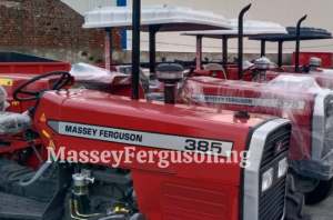 Massey Ferguson MF 385 2WD Tractors for Sale in Nigeria Front end